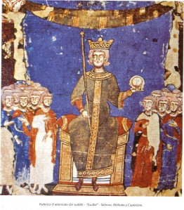 federico II  exultet, salerno Biblioteca Capitolare