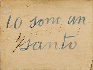 Lucio Fontana Io (non) sono un santo