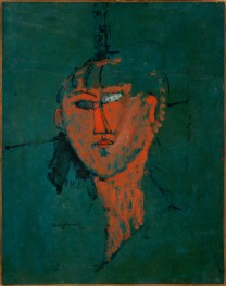 Modigliani, Testa rossa