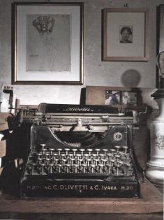 Lo studio di Carol Rama