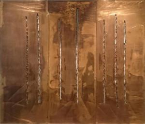 Lucio Fontana, Concetto spaziale-New York, 1962
