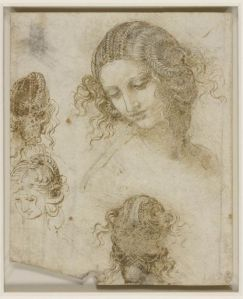 Leonardo, schizzi, royal collection