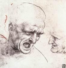 Leonardo, studio per la Battaglia di Anghiari