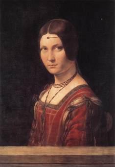 Leonardo La Belle Ferroniere