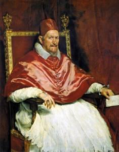 Velazquez, Papa Innocenzo X