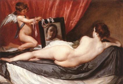 Venere allo specchi  di Velazquez