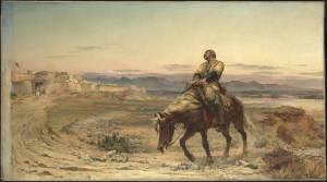 The Remnants of an Army 1879 Elizabeth Butler (Lady Butler) 1846-1933