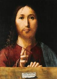 Antonello da Messina Salvator mundi