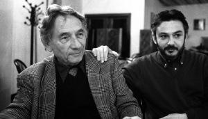 Mario Dondero, con Angelo Ferracuti
