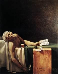 David, la morte di Marat