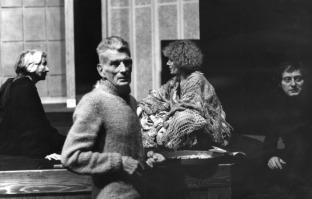 Beckett fotografato da Dondero