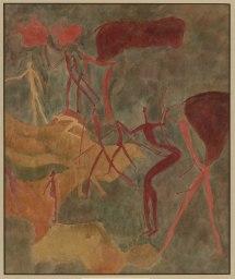 Aquarell von Elisabet Mannfeld, 1929 © Frobenius-Institut