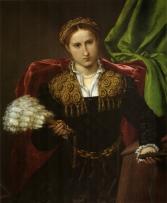 Lorenzo Lotto, ritratto di Laura di Polo