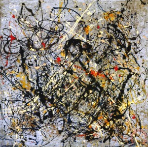 number 18 1950 by Jackson Pollock;