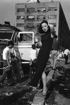 """L'attrice Yamaguchi Yoshiko"", 1952 (Ken Domon)"